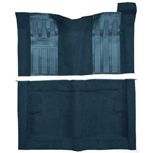 OER 69-71 Torino GT 2-Dr HT w/ Auto Loop Carpet Kit w/ Black Inserts Dark Blue F9194412