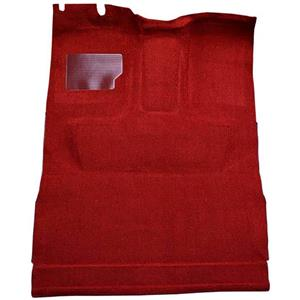 OER 1974-79 Ford F-Series Extra Cab w/ High Tunnel - Molded Cutpile Carpet Kit - Red F9208102