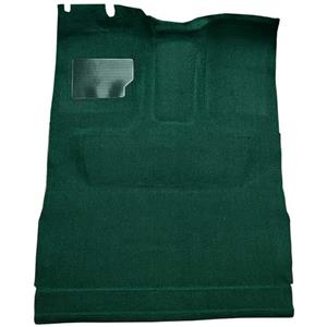 OER 74-79 F-Series Extra Cab w/ High Tunnel - Molded Cutpile Carpet Kit - Jade Green F9208146