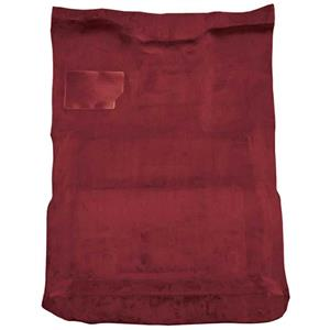 OER 87-96 F-Series Extra Cab Electric 4WD Auto w/ Low Tunnel Cutpile Carpet Kit Maroon F9211215