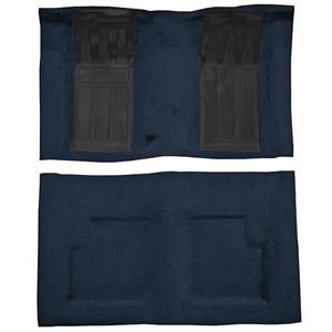 OER 72 Torino GT Convt 4-Speed - Loop Carpet Kit w/ 2 Black Inserts - Dark Blue F9214312
