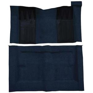 OER 69-70 Torino 2-Dr HT/Ranchero GT Auto Loop Carpet Kit w/ Dark Blue Inserts Dark Blue F9214912