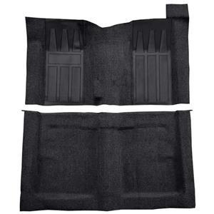 OER 69-70 Torino 2-Dr HT/Ranchero GT 4-Speed Loop Carpet Kit w/ Fawn Inserts Black F9215401