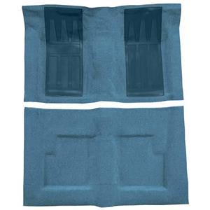 OER 69-71 Torino GT Convt Auto Loop Carpet Kit w/ 2 Medium Blue Inserts Medium Blue F9216041