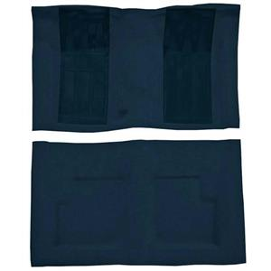 OER 69 Torino GT Convt 4-Speed - Loop Carpet Kit w/ 2 Dark Blue Inserts - Dark Blue F9216512