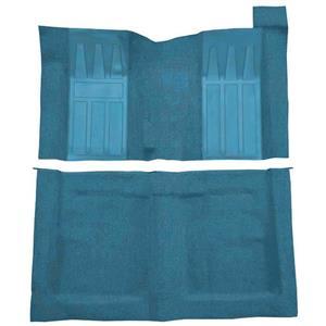 OER 69-70 Torino 2-Dr HT 4-Speed Loop Carpet Kit w/ Medium Blue Inserts Medium Blue F9218141