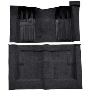 OER 69-70 Torino 2-Dr HT/Ranchero GT Automatic Loop Carpet Kit w/ Fawn Inserts Black F9218201