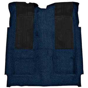 OER 72-73 Torino GT 2-Dr HT Automatic Loop Carpet Kit w/ 2 Black Inserts Dark Blue F9220512