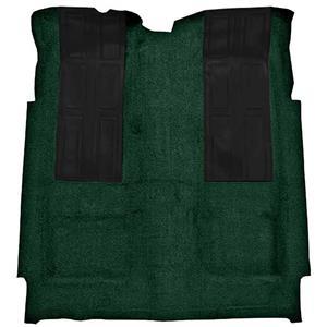 OER 72-73 Torino GT 2-Dr HT Automatic Loop Carpet Kit w/ 2 Black Inserts Dark Green F9220513