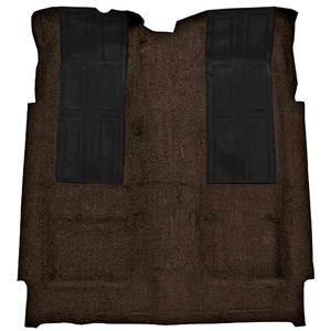 OER 72-73 Torino GT 2-Dr HT Automatic Loop Carpet Kit w/ 2 Black Inserts Dark Brown F9220530