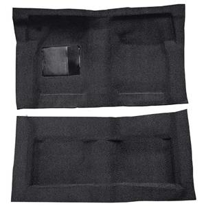 OER 65-68 Galaxie Fastback/Convt w/ Col Shift - Molded Loop Carpet Kit - Black F9220701