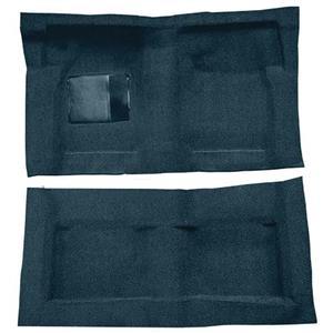 OER 65-68 Galaxie Fastback/Convt w/ Col Shift - Molded Loop Carpet Kit - Dark Blue F9220712