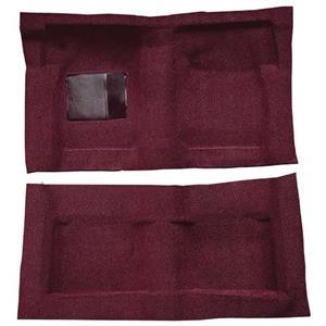 OER 65-68 Galaxie Fastback/Convt w/ Col Shift - Molded Loop Carpet Kit - Maroon F9220715
