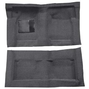 OER 65-68 Galaxie Fastback/Convt w/ Col Shift Molded Loop Carpet Kit Gunmetal Gray F9220747