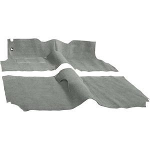 OER 1957 Chevrolet 2 Door Station Wagon W/ Bench Antelope Molded Cut Pile Carpet Set TF117293