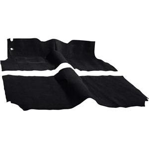OER 1957 Chevrolet 2 Door Station Wagon W/ Buckets Black Molded Cut Pile Carpet Set TF117301