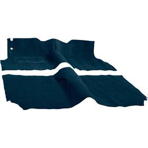 OER 57 Chevy 2 Door Station Wagon W/ Buckets Dark Blue Molded Cut Pile Carpet Set TF117312