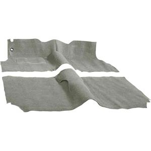 OER 57 Chevy 2 Door Station Wagon W/ Buckets Desert Tan Molded Cut Pile Carpet Set TF117335