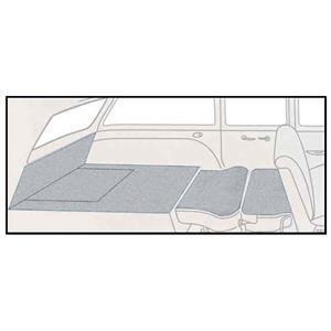 OER 57 Chevrolet 2 Door Station Wagon 5 Piece Silver Loop Rear Cargo Area Carpet Set TF117723