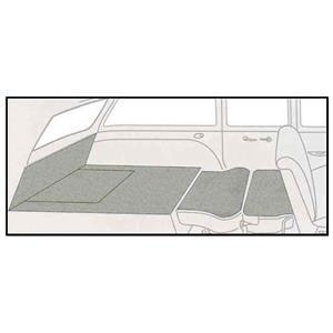 OER 55-57 Chevy -Door Station Wagon 5 Piece Tan Cut Pile Rear Cargo Area Carpet Set TF117835