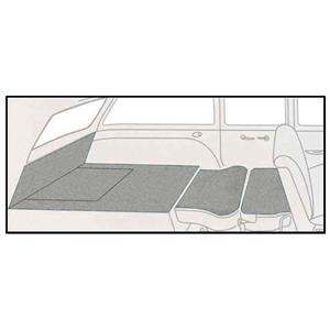 OER 55-57 Chevy 2 Dr Station Wagon 5 Piece Antelope Cut Pile Rear Cargo Area Carpet Set TF117893