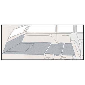 OER 57 Chevrolet Nomad Silver 5 Piece Loop Rear Cargo Area Carpet Set TF118023