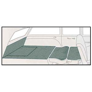 OER 57 Chevy Nomad Light Green 5 Piece Loop Rear Cargo Area Carpet Set TF118042