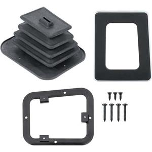 OER 1967-69 Camaro without Console Manual Transmission Shift Plate Kit *R671