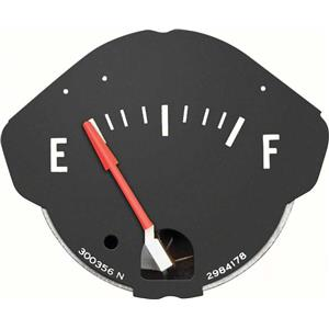 OER 1970-74 Mopar E-Body Rallye Fuel Gauge 1277451