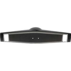 OER 1969-70 Steering Wheel Shroud ; Black 3939760