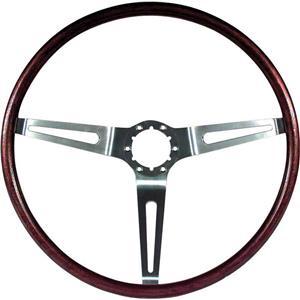 """OER 1969 GM Rosewood Woodgrain Steering Wheel; 16"""" Diameter; N34 Option 3960722"""