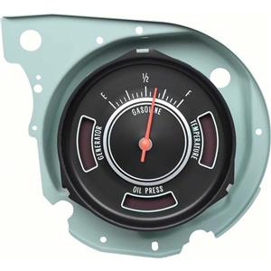 OER 1969 Chevelle In Dash Fuel Gauge with Warning Lights 6431251