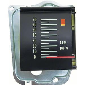 OER 1968 Chevelle Tachometer with 6000 RPM Redline 6468823