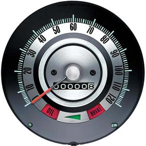 OER 1968 Camaro Speedometer ; 120 MPH ; without Speed Warning 6481843