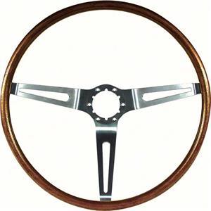 "OER 1967-68 GM Walnut Woodgrain Sport Steering Wheel; 16"" Diameter; N34 Option 9746195"