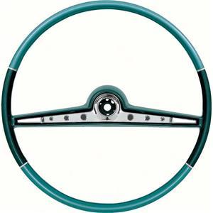 "OER 1962 Impala Steering Wheel; Standard and SS ; Blue Two Tone ; 17"" Wheel 768145"