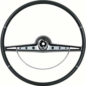 OER 1963 Impala Steering Wheel with Horn Ring - Standard and SS - Black 769968