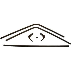 OER 1968-70 Charger 6 Piece Interior Rear Window Trim Set *MB1504
