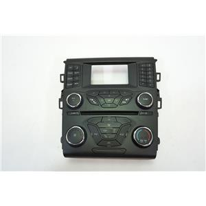 2013-2015 Ford Fusion Radio Manual Climate Dash Trim Bezel Stereo Controls