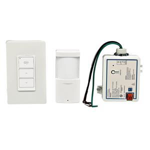 Wireless Light Switch Dimmer - Occupancy Sensor, Wall switch & Relay 3W-Pack