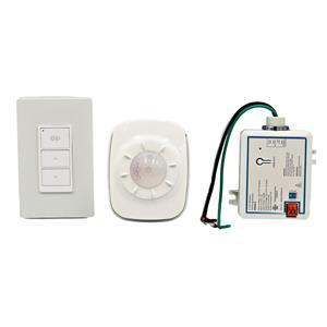 Wireless Light Switch Dimmer - Daylight Sensor, Wall switch & Relay 3C-Pack