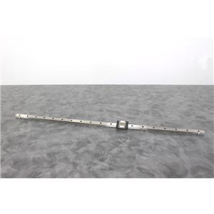 "Used:THK 760mm 30"" Linear Guide and SRS15M Bearing Block with 90-Day Warranty"
