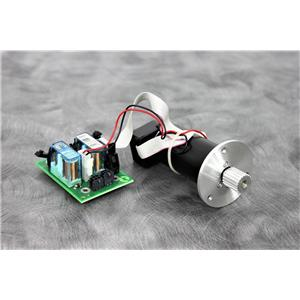 Used:Maxon 337976 DC Motor and Encoder with Power Board for Roche Cobas S 401