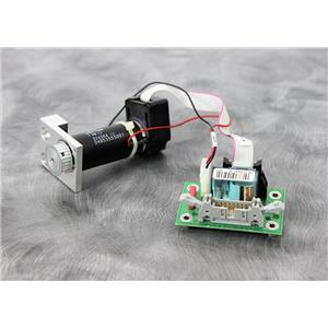 Used:Maxon 118752 DC Motor, Gearhead and Encoder w/ Power Board for Roche Cobas