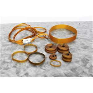 Used:Bando Polyurethane Synchro-Link Belts T2 & T5 for Roche Cobas S 401 w/Warranty