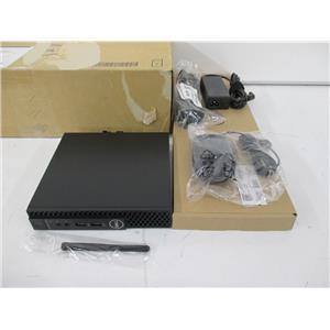 Dell W7XP4 OptiPlex 3070 MFF Desktop i5-9500T 8GB 256GB PCIe W10P w/WARR
