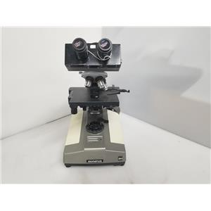 Olympus BHA Microscope w/ 3 Objectives (No Light Source)