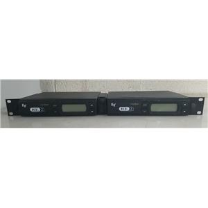 DUAL ELECTRO-VOICE CLEARSCAN RE2 WIRELESS BAND A SYSTEM