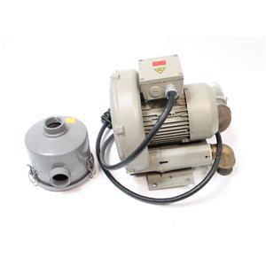 Siemens AG Vacuum Pump Blower D-97615 / ELMO-G 2BH1 400-1AK12 w/ Solberg Filter