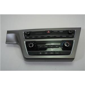 2015-2017 Hyundai Sonata Center Dash Radio Manual Climate Bezel Info Controls